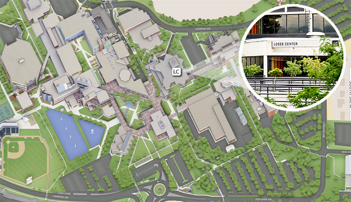 Map of uvu campus