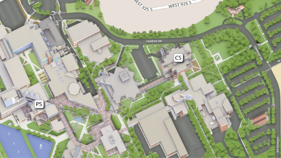 Example of Campus Map